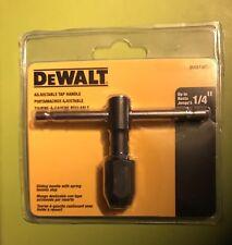 """Dewalt 1/4 """" Adjustable Tap Handle -DWA140TH"""