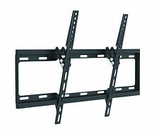 SLIM FLAT LCD LED TV WALL MOUNT BRACKET TILT 40 42 43 46 47 48 50 55 57 60 65 70