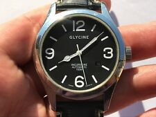 GLYCINE 3821 INCURSORE AUTOMATIC 100M ETA 2824-2 MENS 44mm SWISS MADE