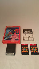 Intellivison Tron Deadly Discs Complete and Tested  (Intellivision, 1982)