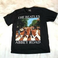 Vintage The Beatles Men's Size Large Abbey Road Shirt Single Stitch 2-Sided