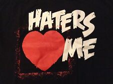 WWE The Miz T-Shirt Long Sleeve XL Haters Love Me Cause I'm Awesome NXT WWF be