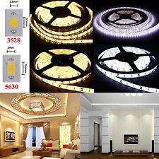 1M 5M 10M SMD 3528 5630 LED Strip Band Leiste Streifen Lichter Kaltweiß Warmweiß