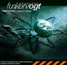 FUNKER VOGT Survivor - Collector's Edition 3CD Digipack 2014
