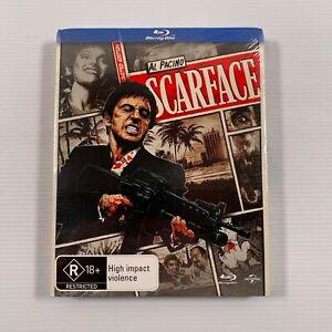 Scarface SEALED (Blu-ray 2012) 1983 film Al Pacino, Michelle Pfeiffer Region B