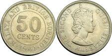 elf Malaya & British Borneo  50 Cents 1961
