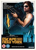 Escape from New York DVD (2018) Kurt Russell, Carpenter (DIR) cert 15 ***NEW***