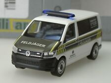 """Herpa VW T6 Bus """"Feldjäger"""", Militär - 746298 - 1:87"""