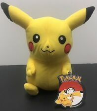 "Pikachu 10"" Authentic Pokemon Nintendo Soft Plush Toy"