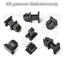 10x revestimiento interior clips de fijación para mercedes a b c CLK cl | a1249900792