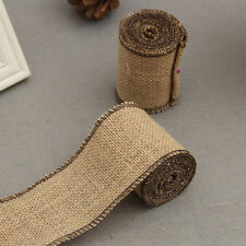 Jute Lace Linen Roll DIY Handmade Rustic Wedding Christmas Crafts Wedding Venue
