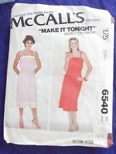 VINTAGE 1982  MCCALLS # 8070 SZ 12 SEWING PATTERN CUT  SZ 12 CHECKED/COMPLETE