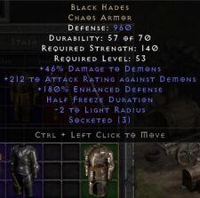 Black Hades Armor | Schwarzer Hades Rüstung | Diablo 2 Resurrected D2R SC PC