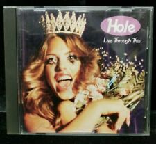 Used Hole - Live Through This CD 1995 Courtney Love Cobain Grunge Lot M13-FFF