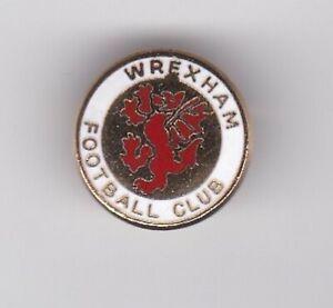 Wrexham - lapel badge No.2 brooch fitting