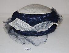 C161 Ancien chapeau - femme élégante - Lady's Hat
