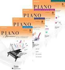 Faber Piano Adventures Level 2B - Four Book Pack (Lesson/Theory/Perf/Technique)