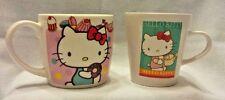 HELLO KITTY - Set of 2 Coffee/Tea Mugs - Sanrio 2005 & 2010