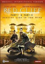 Red Cliff Original International 1&2 0876964002684 With Tony Leung DVD Region 1