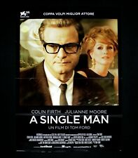 A SINGLE MAN manifesto poster Tom Ford Colin Firth Julianne Moore Gay C84