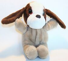 """Puppy Dog Plush Stuffed Animal Toy 8"""" Long  It's All Greek to Me Vintage"""