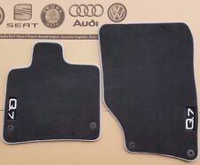 Audi Q7 4L original Fußmatten vorne Veloursmatten V12 Stoffmatten Textilmatten