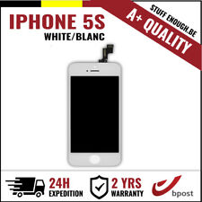 A+ LCD TOUCH SCREEN VITRE TACTILE DISPLAY/SCHERM/ÉCRAN WHITE BLANC FOR IPHONE 5S