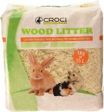 2 X 1KG SMALL PACKS OF WOOD SHAVINGS/LITTER PET BEDDING