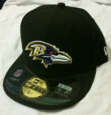 New Era NFL Baltimore Ravens On Field 59 FIFTY Fitted 7 5/8 Hat