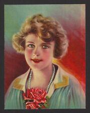 "1930s Glamour Girl art deco print 5"" x 6.5"" Ӝ"