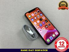 Apple iPhone X - 64GB - Silver (UNLOCKED) A1901 (GSM) Ref: X389
