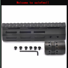 M-LOK  Ultralight Free Float Handguard Rail & barrel Nut for Rifle Scope  7 inch