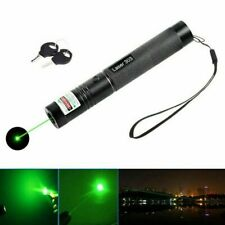 LED Laserpointer 303 Grün 1MW 532NM Mini Laser Taschenlampe Laser Pointer Neu