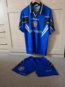 "Retro official Man Utd 96/97, third kit. youths Size 107cm ""L"""