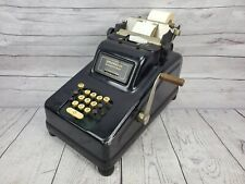 Antique Underwood Sundstrand Cash Register Adding Machine 1940s