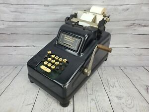 Antique Underwood Sundstrand Cash Register Adding Machine 1940s