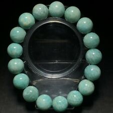 13.2mm Natural Mozambique Amazonite Gems Beads Bracelet AAA