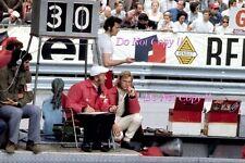 Reine Wissel & Colin Chapman Lotus F1 Portrait Monaco Grand Prix 1971 Photograph
