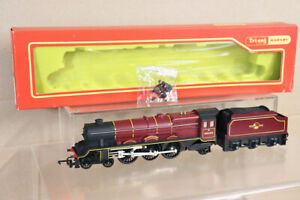 TRIANG HORNBY R258 R34 BR 4-6-2 PRINCESS CLASS LOCO 46200 The PRINCESS ROYAL ny