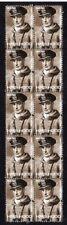 Hms Hood Wwii Battleship Strip Of Mint Vignette Stamps, Kerr
