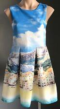 Tween/Girls FRIENDS BY JESSE Multi Colour Beach/Summer Print Dress Size 16