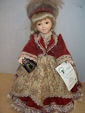 """Robin Woods 1989 Tess of the D'Ubervilles 14"""" Vinyl Doll Made in Usa"""