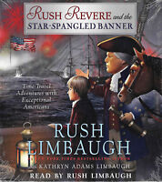 NEW Rush Revere and the Star Spangled Banner Audio Book Vol 4 CD Limbaugh
