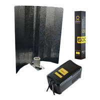 Omega Eurowing 600W Light Kit Reflector Pro V Ballast Bulb Hydroponics Grow Tent