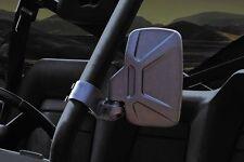 """New Design Seizmik Breakaway Side View Mirrors 1.75"""" -Polaris RZR 570 800 900"""