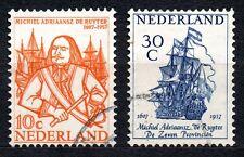Netherlands - 1957 Michiel de Ruyter Mi. 697-98 Superb used