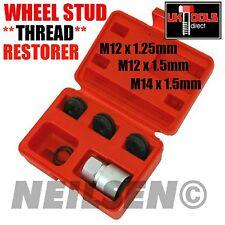 Wheel Stud Hub Thread Restorer**M12 x 1.25**M12 x 1.5**M14 x 1.5mm** 3 Dies