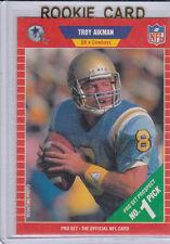 TROY AIKMAN Pro Set ROOKIE Card RC NFL Dallas Cowboys UCLA MINT! RARE! $$