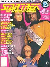 Star Trek TNG Magazine Issue 15 - Worf Family