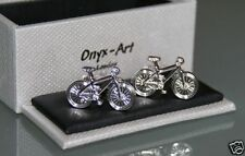 Novelty Cufflinks - BICYCLE Bike Design *New* Gift